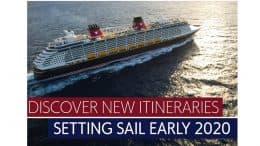See Where Disney Cruise Line Is Sailing in 2020