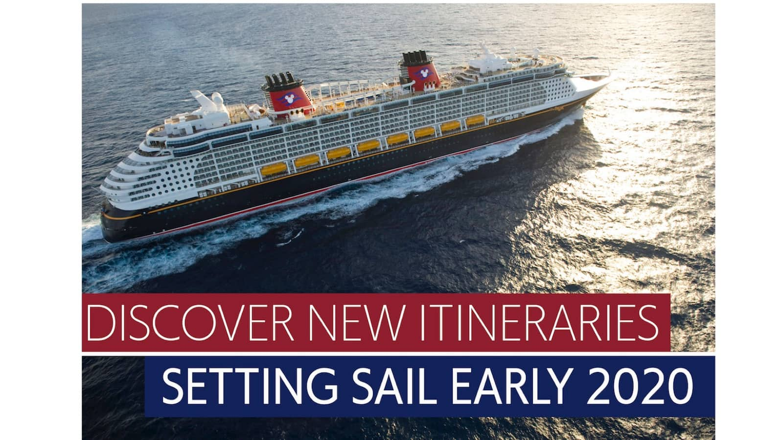 Watch the Replay: LIVE Reveal of Where Disney Cruise Line is Sailing in 2020!