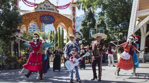 Plaza de la Familia Returns to Disney California Adventure Park