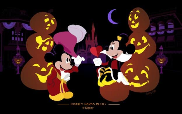 Mickey and Minnie Celebrate Mickey's Not So Scary Halloween Party 2018 - Desktop 1440x900