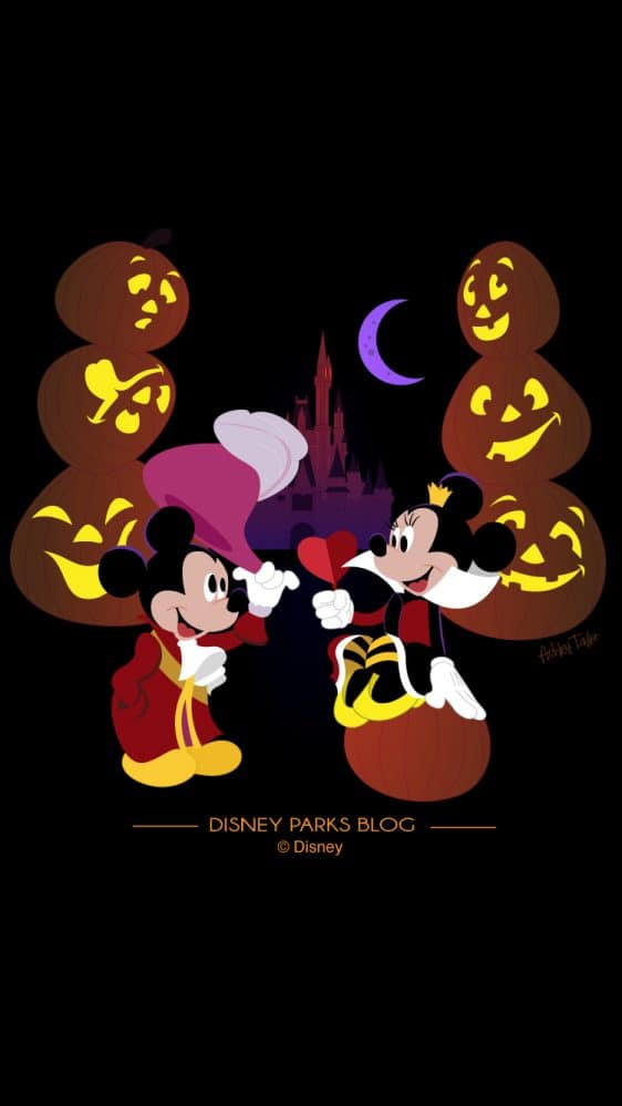 Mickey and Minnie Celebrate Mickey's Not So Scary Halloween Party 2018 - Mobile 750x1334