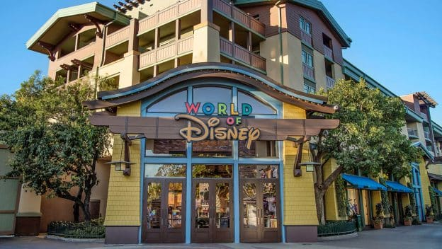 World of Disney store in Downtown Disney District