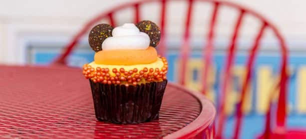Candy Corn Cupcake at Disney's BoardWalk Bakery at Disney's BoardWalk