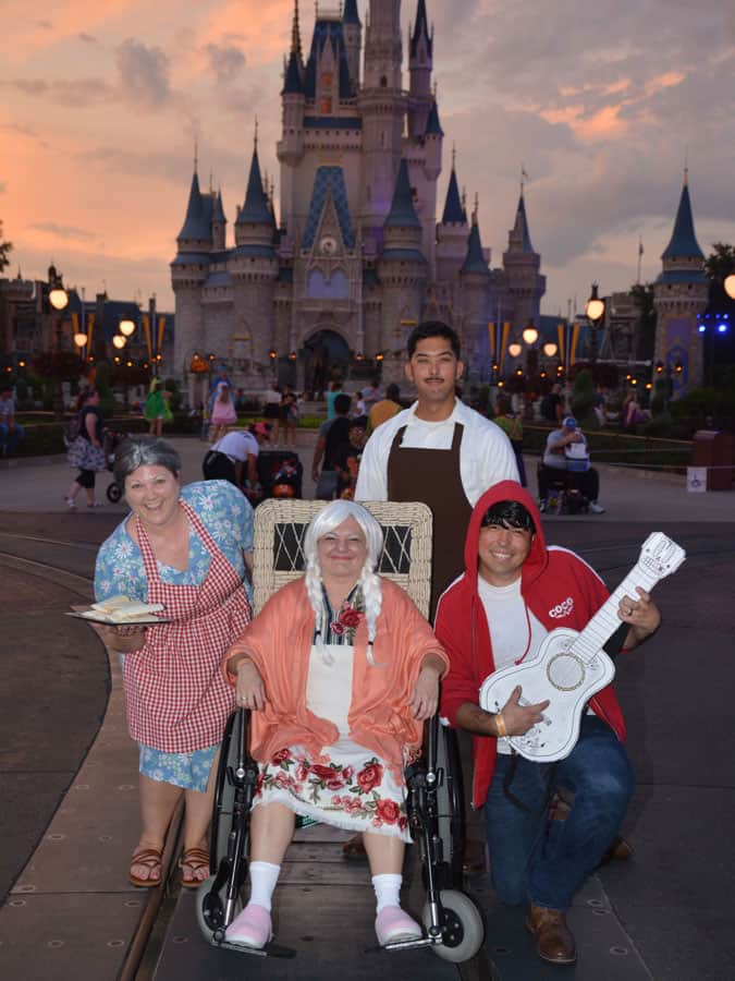 "Cast members Dress Up as Disney•Pixar's ""Coco"" for Mickey's Not-So-Scary Halloween Party"