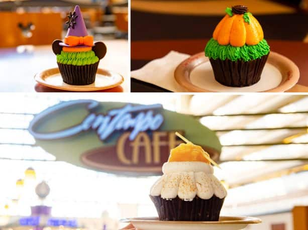 Fall Cupcakes at Contempo Café at Disney's Contemporary Resort