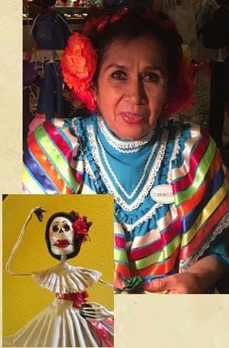 Mexican artist Carmelita Melchor Jimón