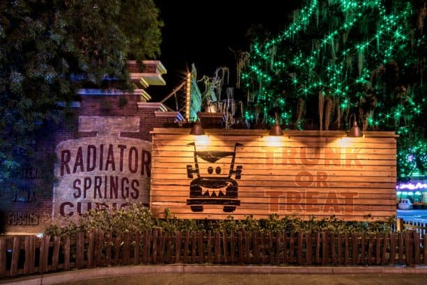 The residents of Radiator Springs have turned their town into Radiator SCREAMs for Halloween Time