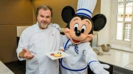 Limited-Time Mickey Dessert by Chef Pierre Hermé