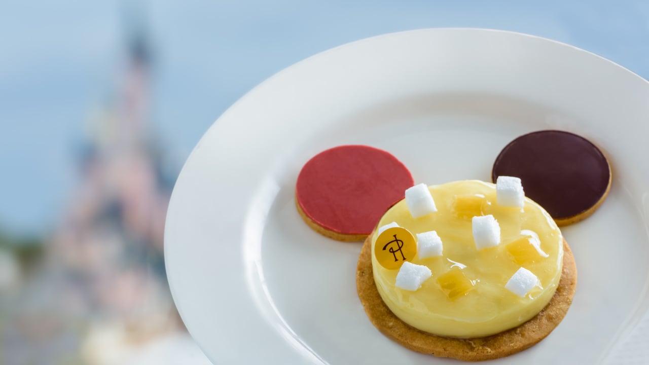 'Mickey Zest Party' Dessert Created by Chef Pierre Hermé