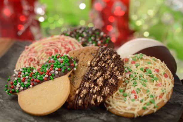 Holiday Cookie Stroll Cookies at Epcot International Festival of the Holidays