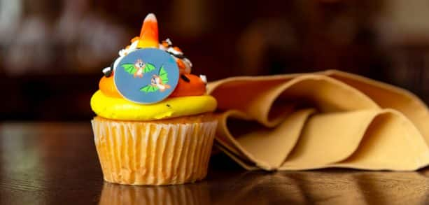 Candy Corn Cupcake at Trail's End To-Go and Chuckwagon at Disney's Fort Wilderness Resort and Campgrounds
