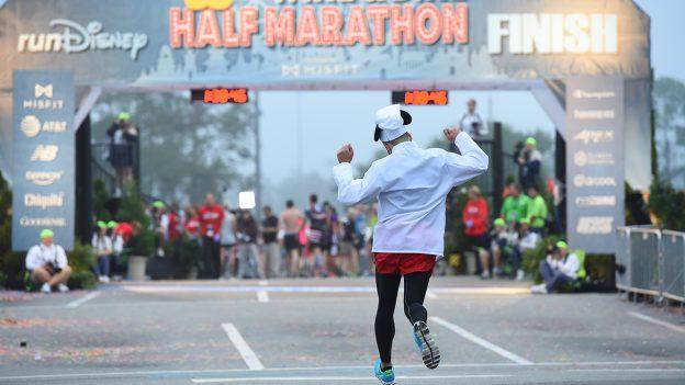 Finisher in the runDisney Wine & Dine Half Marathon