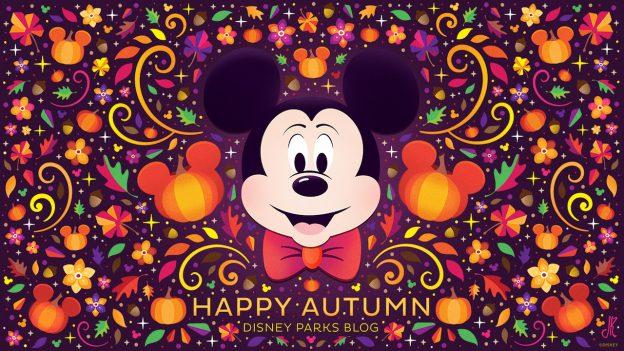 Wallpaper: Autumn at Disney Parks