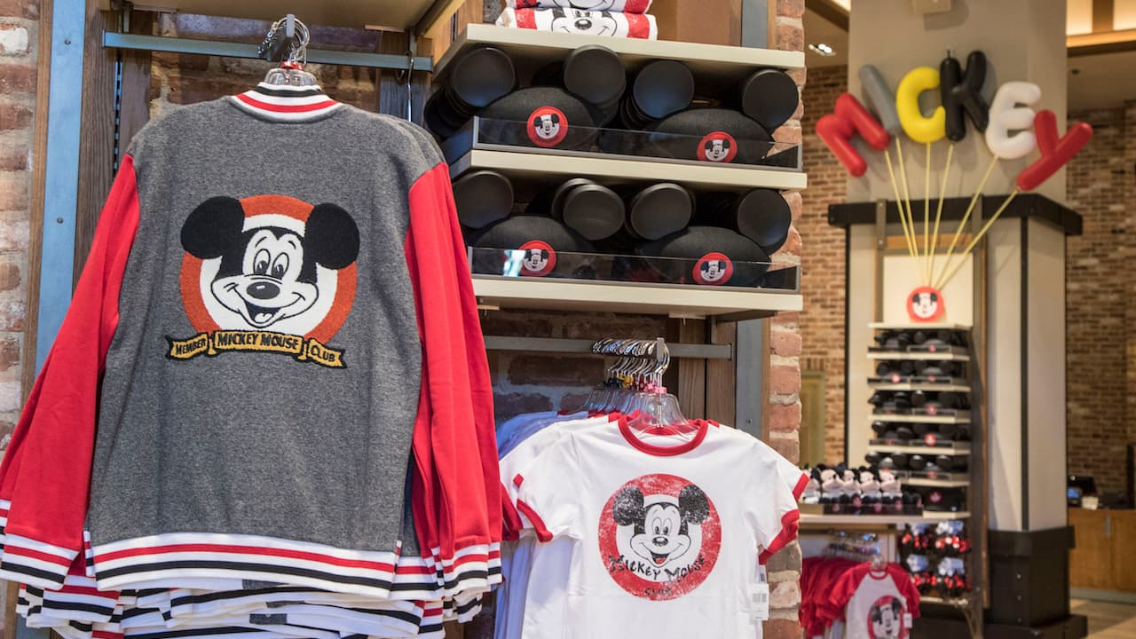 New 'Mickey Mouse Club'-inspired collection is now available at the World of Disney stores at Disneyland and Walt Disney World Resorts