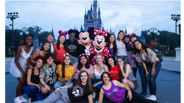 International Day of the Girl story - with Mickey, Minnie, Walt Disney World Resort