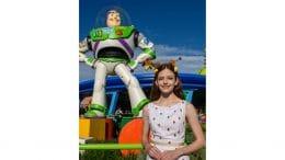 Mackenzie Foy visits Toy Story Land at Walt Disney World Resort