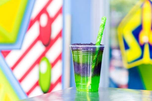 Space Ranger Slush at The Lunching Pad at Magic Kingdom Park