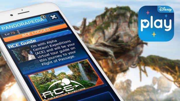 Photo de l'expérience Play Disney Parks ACE Guide to Pandora au parc Disney Animal Kingdom.