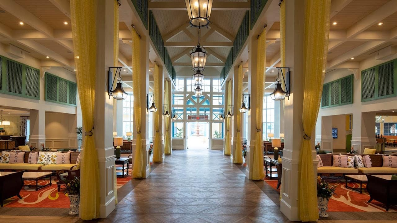 New Lobby, Restaurants and Other Amenities Open Today at Disney's Caribbean Beach Resort