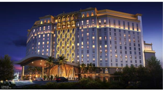 Renderings of the New 15-Story Tower Rising at Disney's Coronado Springs Resort