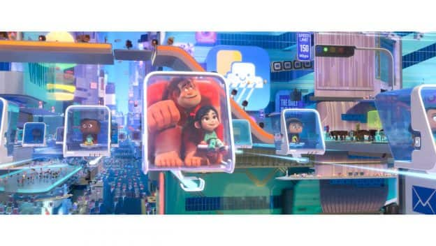 "Scene from ""Ralph Breaks the Internet"""