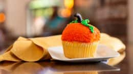 Pumpkin Cheesecake Cupcake at Disney's Port Orleans Resort