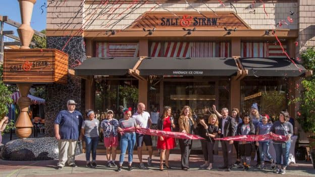 Salt & Straw Now Open in the Downtown Disney District at the Disneyland Resort