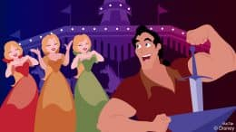 Disney Doodle: Gaston Seeks Accolades in Fantasyland