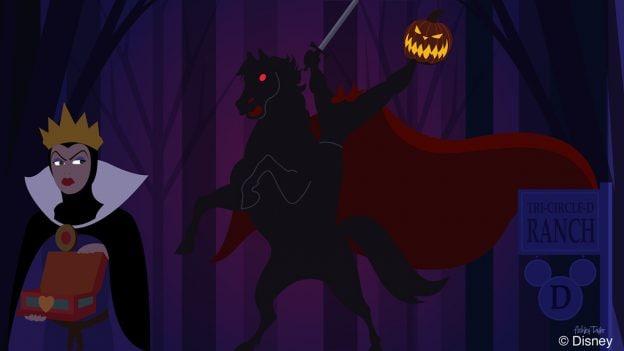 Disney Doodle: The Evil Queen Explores Disney's Fort Wilderness Resort & Campground
