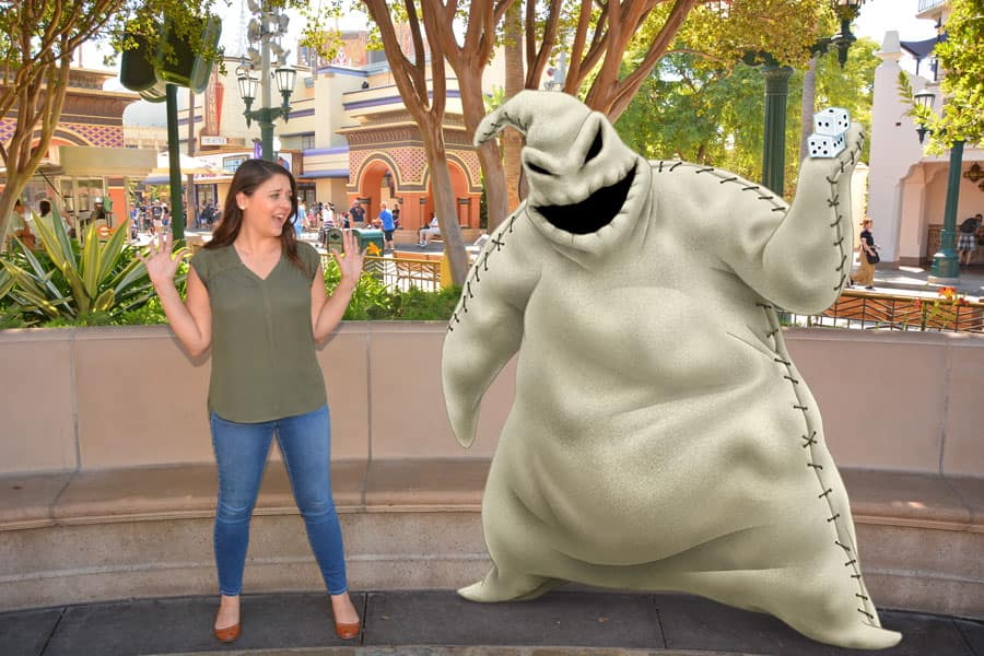 Oogie Boogie Magic Shot on Buena Vista Street at Disney California Adventure park