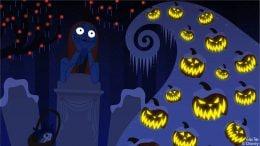 Disney Doodle: Sally at Haunted Mansion Holiday at Disneyland Park