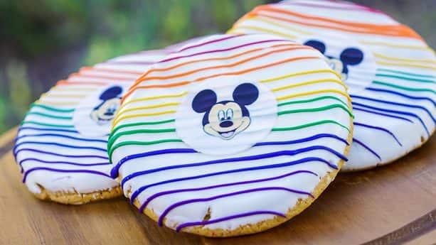 Rainbow Cookies at Disneyland Resort