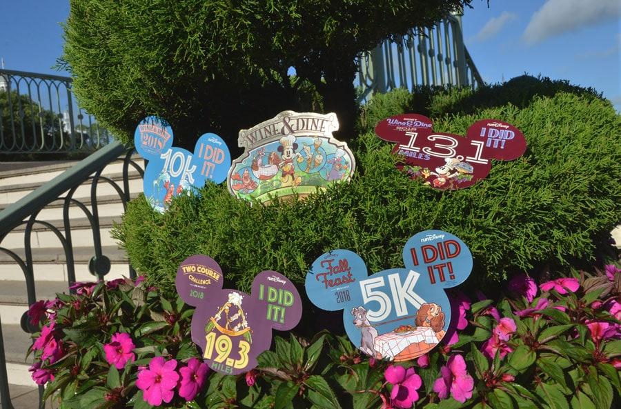 2018 Disney Wine & Dine Half Marathon Weekend Merchandise - Car magnets