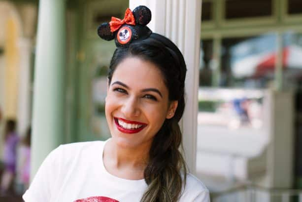 'The Mickey Mouse Club'-inspired headband