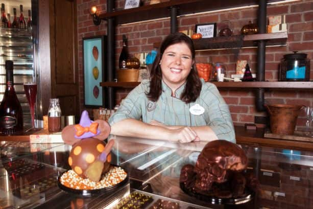 Chef Chocolatier Amanda Lauder from The Ganachery at Disney Springs