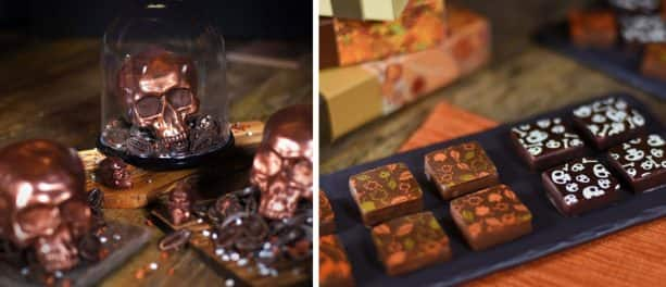 Chocolate Skulls and Fall Ganache Squares from The Ganachery at Disney Springs