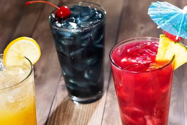 Specialty Beverages at Sebastian's Bistro at Disney's Caribbean Beach Resort