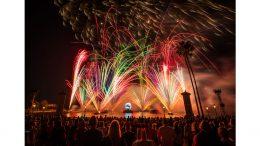 Holiday Finale of 'Illuminations' at Epcot