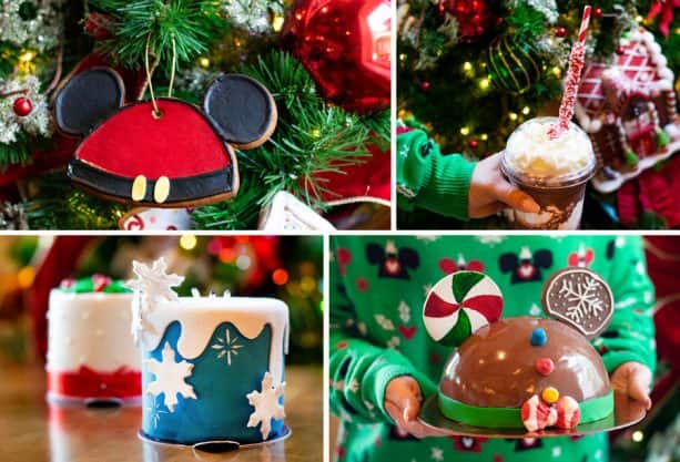 Holiday Items from Amorette's Patisserie at Disney Springs