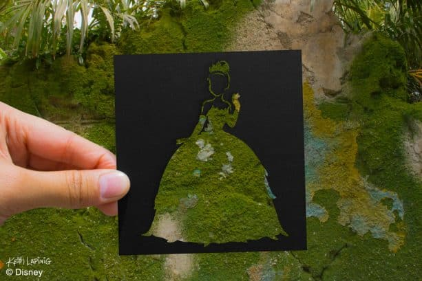 Disney Parks in Silhouette: Princess Tiana