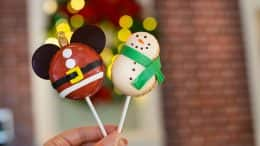 Holiday Macaron Lollipops from Amorette's Patisserie at Disney Springs