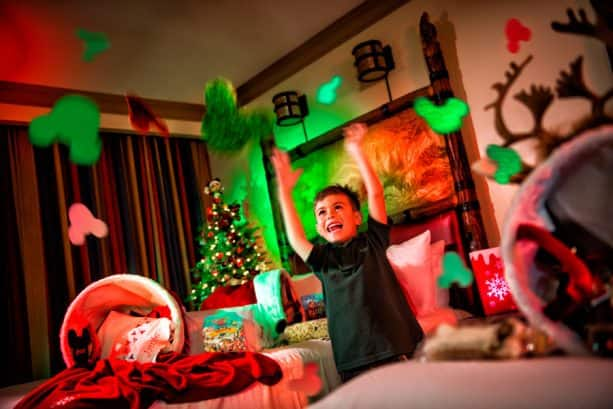 Christmas in your Disneyland Resort Hotel Room