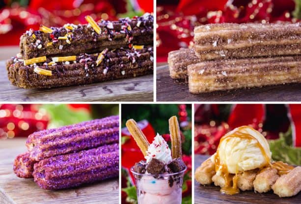 Holiday Churros at Disneyland Park for 2018 Holidays at Disneyland Resort