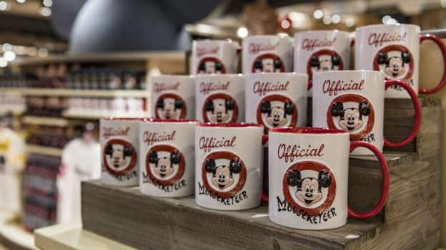 Mickey Mouse Club Mugs from World of Disney
