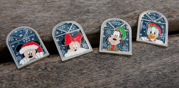 Here's a Peek at the 2018 Disney Gift Card Holiday Pin Series