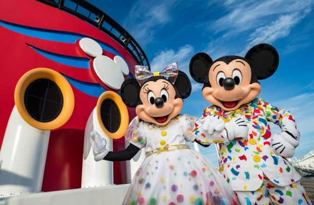 Mickey & Minnie's Surprise Party at Sea Aboard Disney Cruise Line