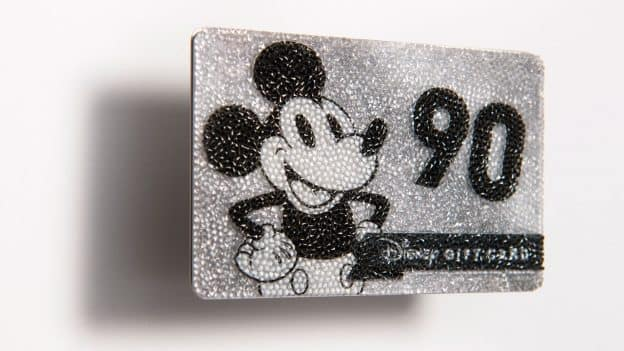 Disney Gift Card Collector S Series Honors 90 Years Of Mickey Mouse