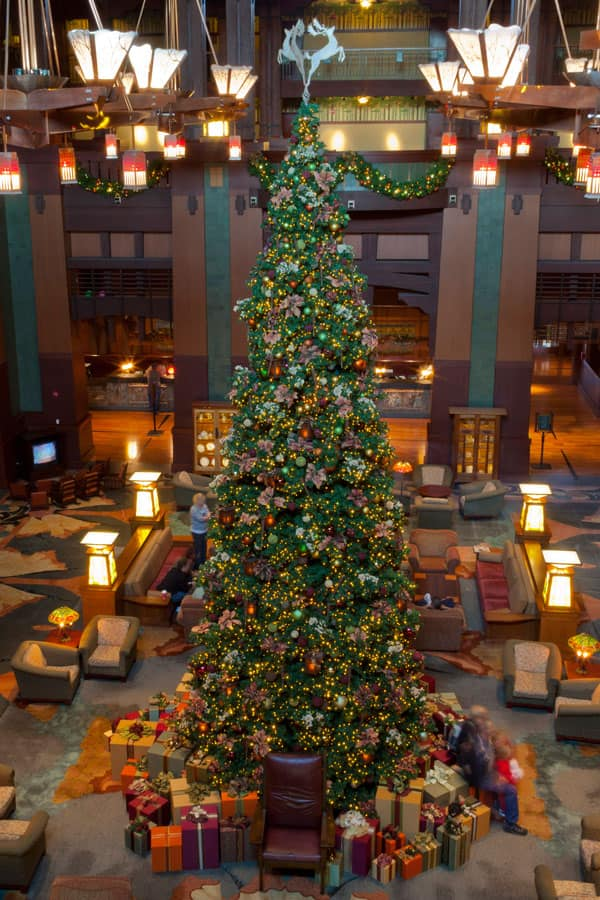 Disney's Grand Californian Hotel & Spa Christmas Tree