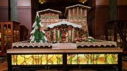Disney's Grand Californian Hotel & Spa gingerbread house