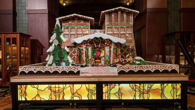 Disney's Grand Californian Hotel & Spa gingerbread house
